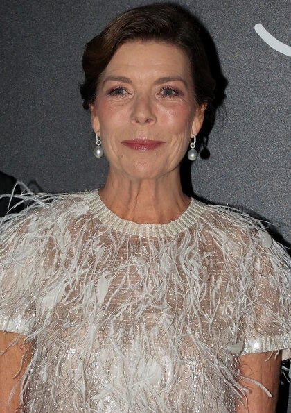 Princess Caroline wore Chanel dress from Spring Summer 2014 Haute Couture collection