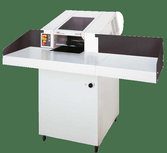 Destructora de papel profesional corte en particulas