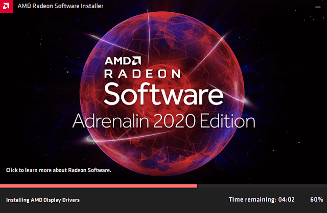 Instal Driver AMD Radeon Adrenaline 2020