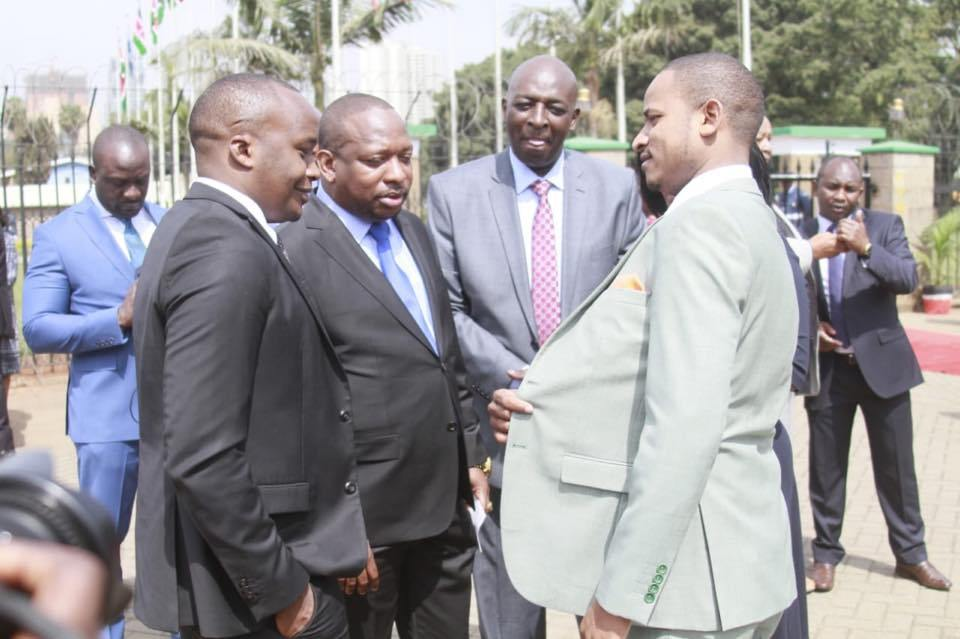 When Babu Owino launched a program that saw hundreds of youths undergo training in driving in Embakasi East Constituency, it wasn't long before Lang'ata MP Nixon Korir and his Starehe counterpart Jaguar launched the exact project in their constituencies.