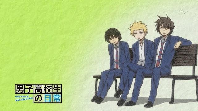 Danshi Koukousei no Nichijou - anime comedy yang lucu kocak dan ngakak untuk dilihat