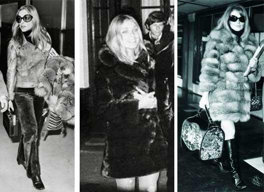 Sharon Tate e a moda 1968