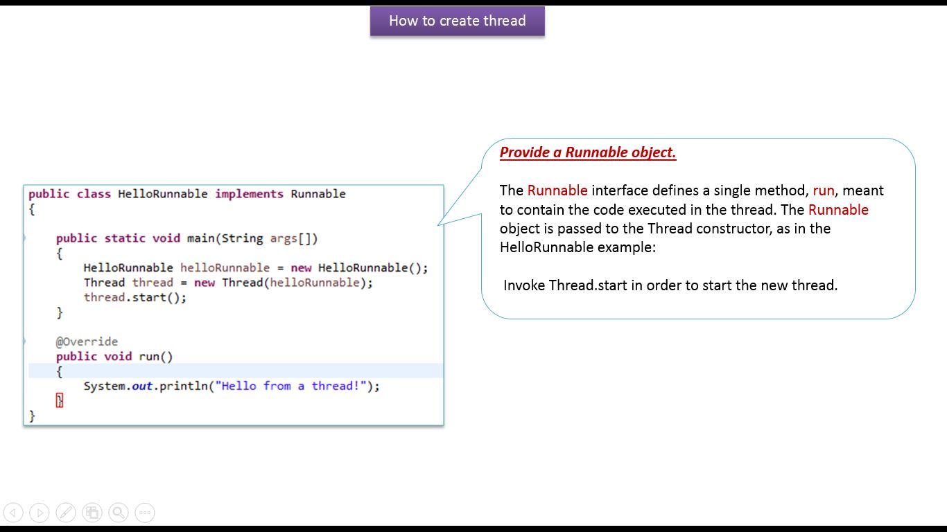 JAVA EE: Java Tutorial : Java Threads (How to create a
