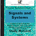 Signals and Systems PDF Study Materials cum Notes, Engineering E-Books Free Download