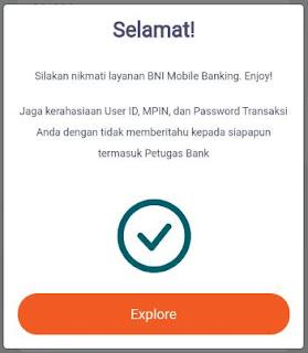cara daftar & aktivasi bni mobile banking sukses