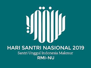 Hari Santri Nasional 2019 Free Vector Logo CDR, Ai, EPS, PNG