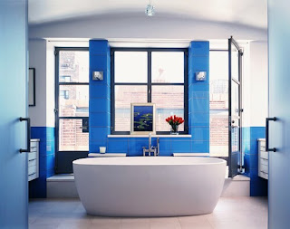 bathroom renovations charlotte nc + Blue Bathroom Design Ideas and Decor with Pictures