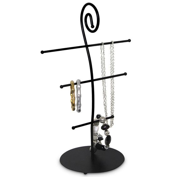 Metal Necklace Display Stand