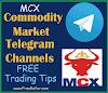 Best 5+ MCX Free Tips Telegram Channel 2021