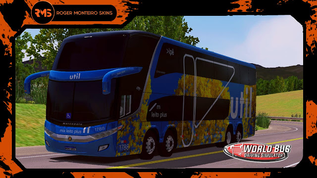 Viação Útil Ipê, Skins World Bus Driving Simulator