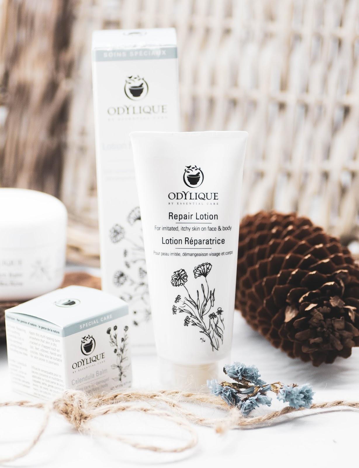 Odylique by Essential Care, jedyna marka na rynku stworzona przez... atopika! Trzy produkty na egzemę, AZS i łuszczycę.