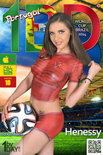 Henessy - 1By-Day - World Cup Brazil 2014 - Jun 16, 2014