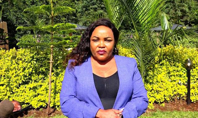 Kirinyaga Women Representative Wangui Ngirichi photo