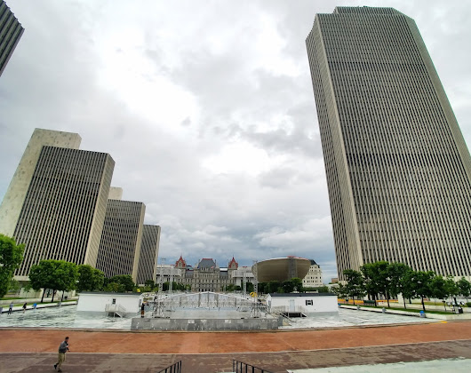 The Empire State Plaza: when architecture turned men into gods