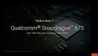 redmi note 7 pro, qulcomm snapdragon 675 processor