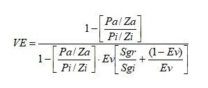 Gráfico Comparativo del Factor de Recobro - Ecuación de la Variable Energética
