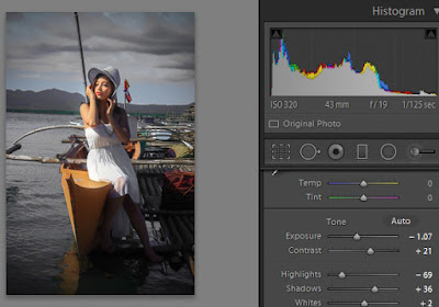 Adobe LightRoom Gothic Style Glamour Editing