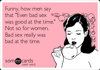 i suck at sex