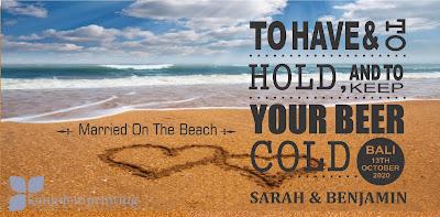 Beach Templates Married On The Beach Blues ocean