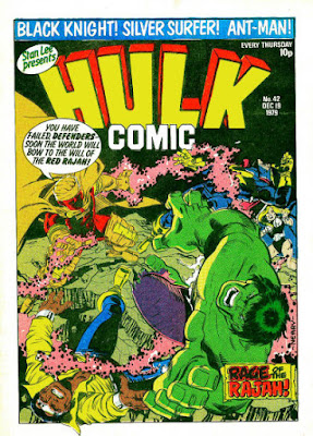 Hulk Comic #42, the Red Rajah