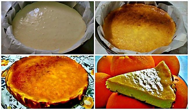 Propiedades de la tarta ligera de queso y naranja