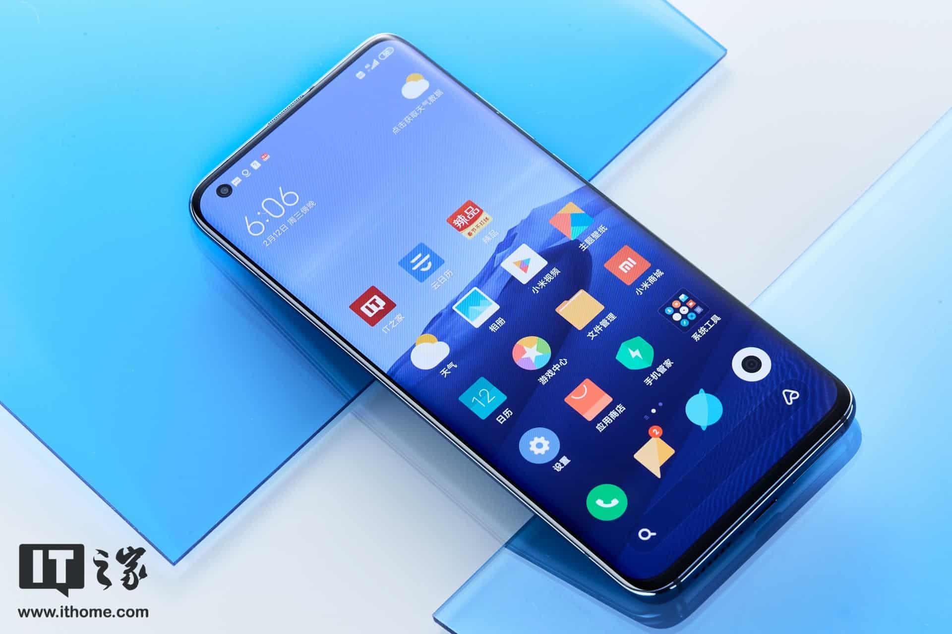 Xiaomi بدأت في طرح تحديث جديد لهاتف Mi 10