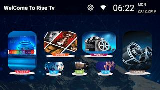 RISE IPTV INSTALLER SUR ANDROID AVEC CODE ACTIVATION 12 MOIS