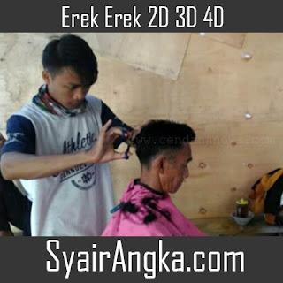 Erek Erek Tukang Cukur 2D 3D 4D