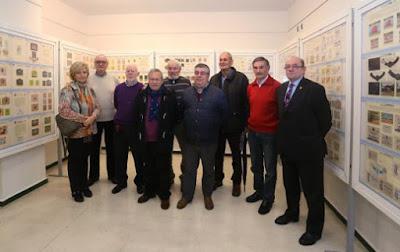Exposición de Coleccionismo en el Ateneo de la Calzada: expositores