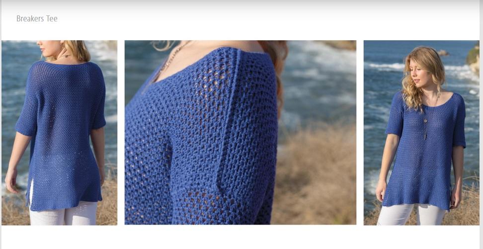 Breakers Tee Crochet Pattern