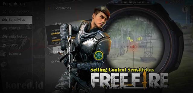 Setting Kontrol Sensitivitas Terbaik Free Fire