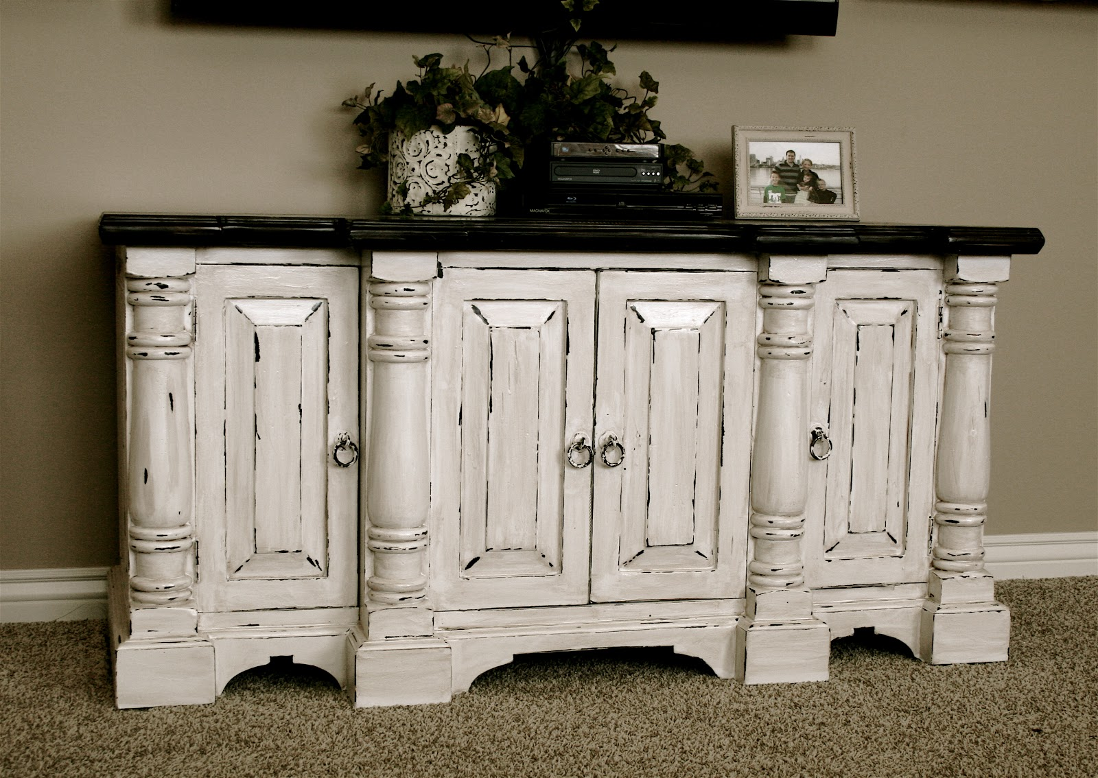Genial Little Bit Of Paint Refinished Furniture