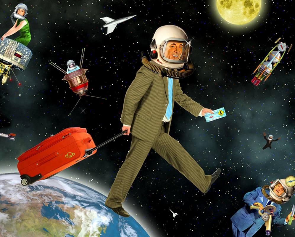 Turismo e a exploração do espaço