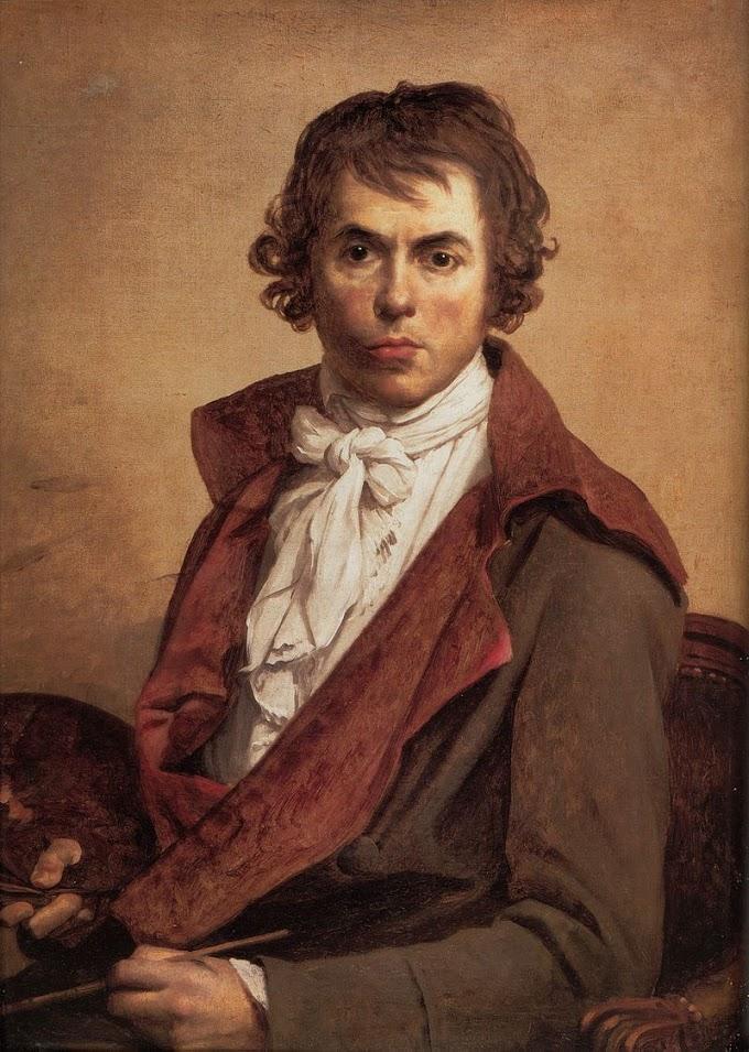 الفنان الفرنسي جاك لوي دافيد