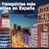 ¿Cuáles son las 5 franquicias más rentables en España?