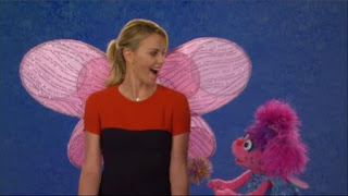 Abby Cadabby and Charlize Theron talk about the Word on the Street jealous, Sesame Street Episode 4401 Telly gets Jealous season 44