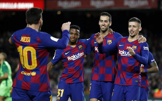 'The Market did not give us anything' - Setien not worried about lack of signing, Barcelona in need of a striker, Barcelona score five past Leganes