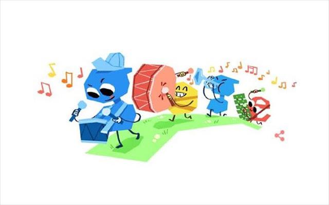 Στην παγκόσμια ημέρα του παιδιού αφιερώνει η Google το σημερινό της Doodle