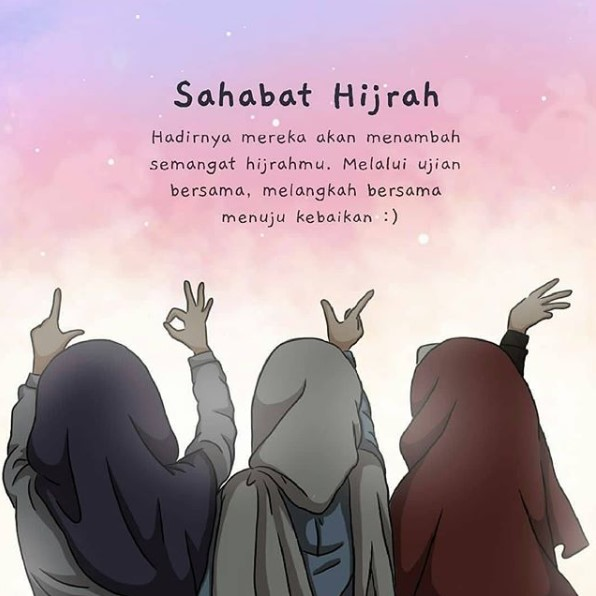 555 Gambar Kartun Muslimah Berhijab Terbaru 2020 Kanalmu