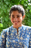 Sai Pallavi looks super cute in plain dress at her interview in Telugu about movie Fidaa ~ Exclusive Celebrities Galleries 010.JPG