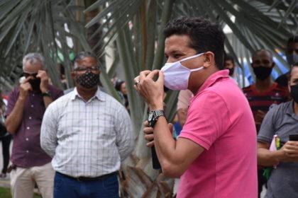 Protestos contra o Lockdown | Salomão apoia manifestantes e critica o uso de máscaras em Vitória da Conquista