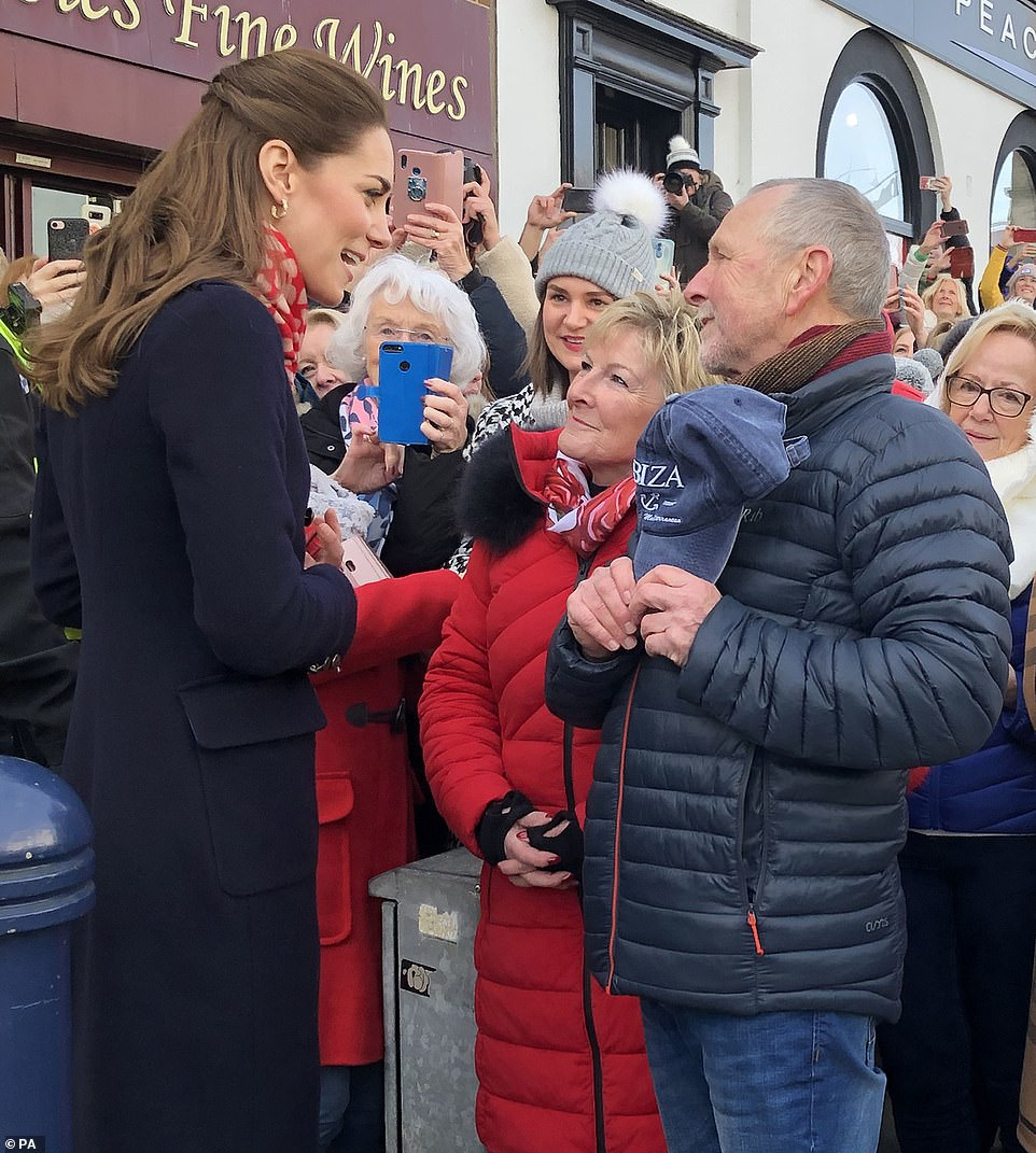 Duchess Kate and Prince William Visit South Wales