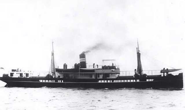 British Royal Navy ship HMS Mata Hari, sunk on 15 February 1942 worldwartwo.filminspector.com
