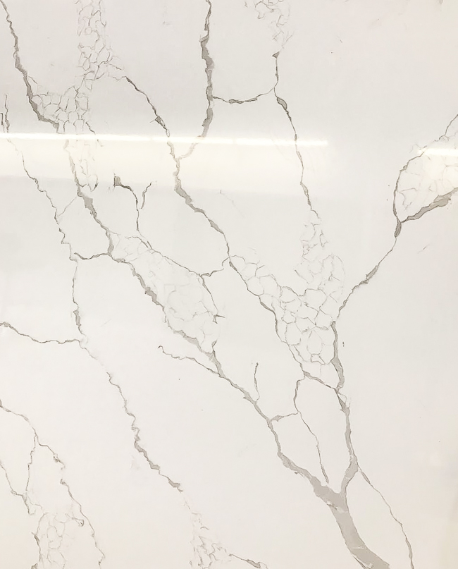 Calcatta Laza quartz countertop
