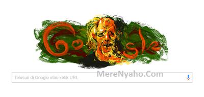 Siapa Tokoh affandi dalam google doodle hari ini, Affandi ~ Pelukis Yang Muncul di Google Doodle