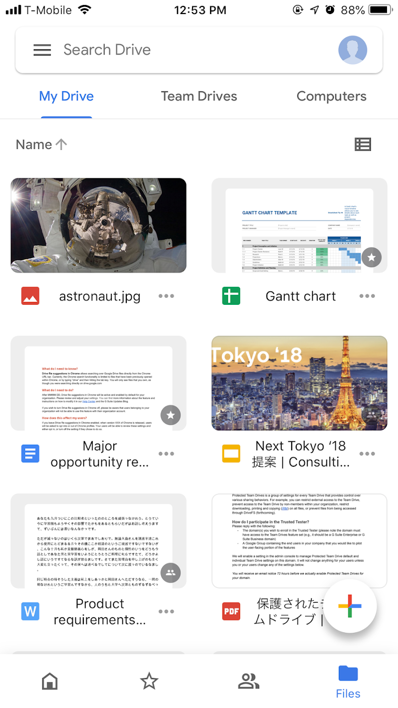 G Suite Updates Blog: Google Drive is getting a new look on iOS and