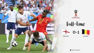 Inggris vs Belgia 0-1 Highlights - Piala Dunia 2018