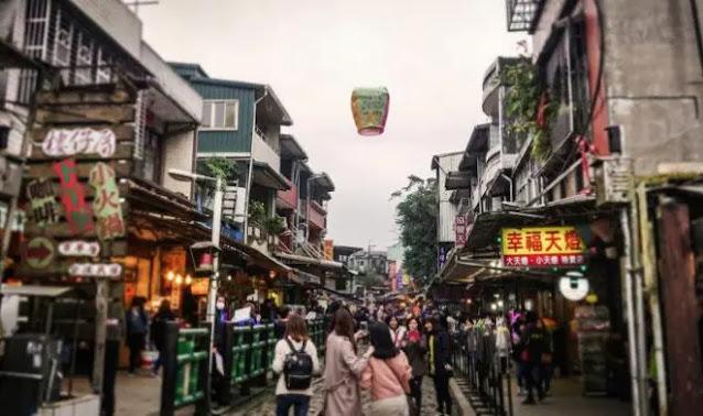 Jiufen - a romantic ancient village in Taiwan