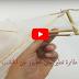 كيفية صنع طائرة تطير مثل الطيور من الخشب والمطاط