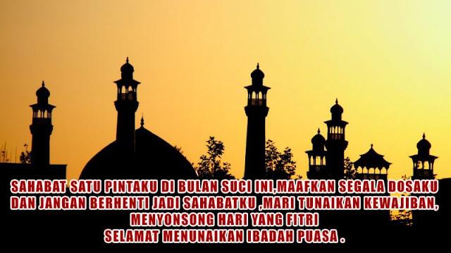 Ucapan Menyambut Ramadhan yang InsyaAllah Membawa Banyak Beberkahan